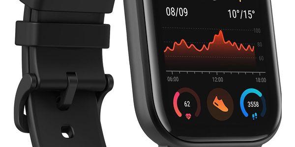 Chytré hodinky Xiaomi Amazfit GTS (A1914-OB) černé + DOPRAVA ZDARMA2