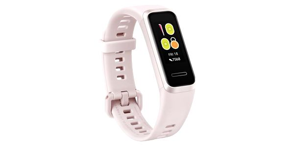Fitness náramek Huawei Band 4 (55024460) bílý/růžový3