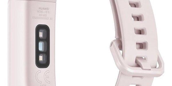 Fitness náramek Huawei Band 4 (55024460) bílý/růžový4