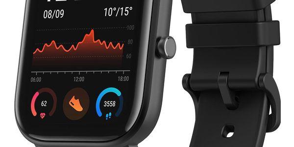 Chytré hodinky Xiaomi Amazfit GTS (A1914-OB) černé + DOPRAVA ZDARMA3
