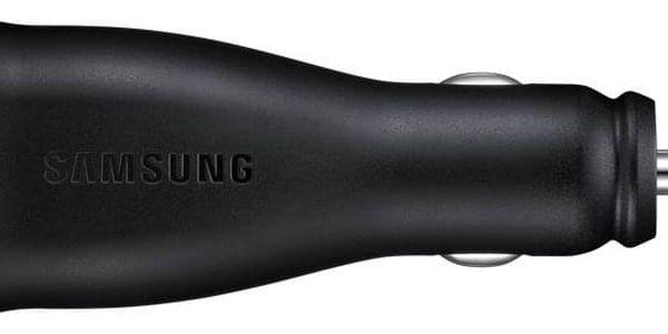 Adaptér do auta Samsung EP-LN920BB, 2x USB, 2A, s funkcí rychlonabíjení + MicroUSB kabel (EP-LN920BBEGWW) černý4