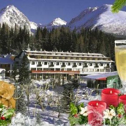 Novoroční pobyt v Tatrách na Štrbském Plese v hotelu Toliar s polopenzí a bazény