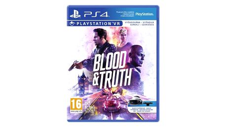 2K Games PlayStation 4 Blood and Truth VR (PS719999096)