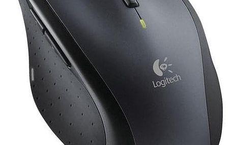 Logitech Wireless Mouse M705 Marathon černá/šedá / laserová / 7 tlačítek / 1000dpi (910-001949)