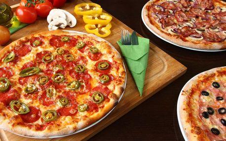 Pizza s rozvozem: výběr z 15 druhů, ⌀ 32 cm