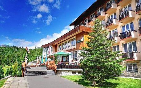 Letní Belianské Tatry na 6 či 8 dní v Hotelu Magura s polopenzí a wellness