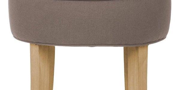 Atmosphera Créateur d'intérieur Židle, taburet, stolička, stolička s opěradlem, barva hnědá3