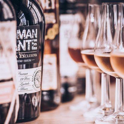 Degustace rumů: vzorky z Venezuely, Panamy i Kuby