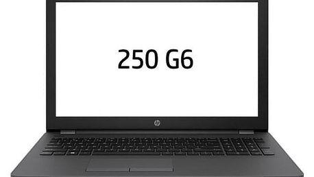 Notebook HP 250 G6 šedý (3VJ19EA#BCM)