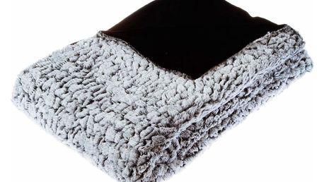 Emako Oboustranný heboučký přehoz na postel, který vzimě příjemně zahřeje