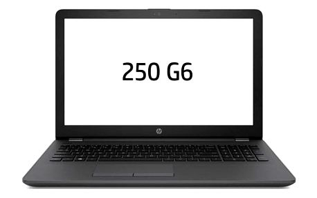 Notebook HP 250 G6 šedý (3VJ19EA#BCM)