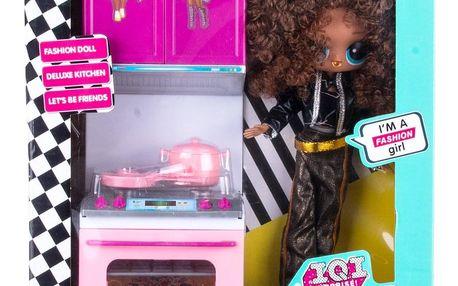 I.Q.I Surprise! Velká ségra OMG - sada panenka a kuchyňka