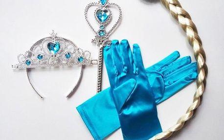 Šaty princezny Elsy nebo Anny z Ledového království s možností výběru setu