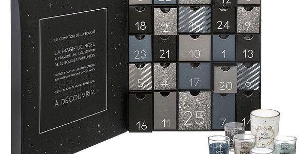 Fééric Lights and Christmas Adventní kalendář s 25 svíčkami, 32x38 cm