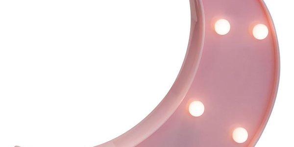 Atmosphera for kids LED lampička, svítící měsíc s 8 žárovkami bude ideálním osvětlením dětské ložnice2