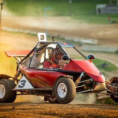 Až 10 kol autocross jízdy v nadupané speciálně upravené bugině