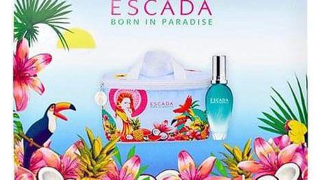 ESCADA Born in Paradise toaletní voda pro ženy toaletní voda 30 ml + kosmetická taštička