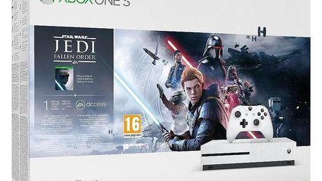 Microsoft Xbox One S 1 TB + STAR WARS Jedi: Fallen Order (234-01098)