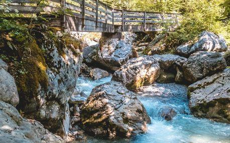Jednodenní výlet za nejkrásnějšími soutěskami Alp