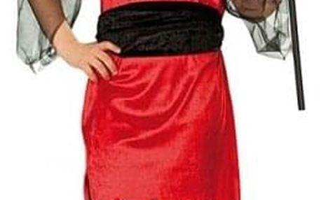 Malá čertice - dětský karnevalový kostým