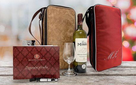 Chladicí taška na víno s vlastním monogramem