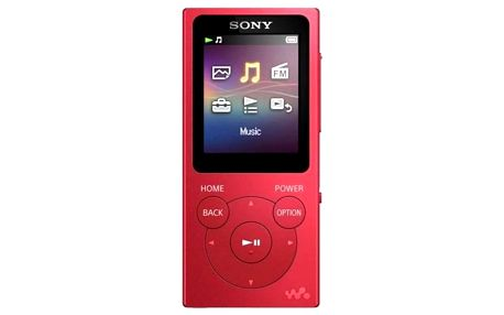 Sony NWE393R červený