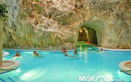 Miškovec v penzionu se vstupem do jeskynních termálů s polopenzí