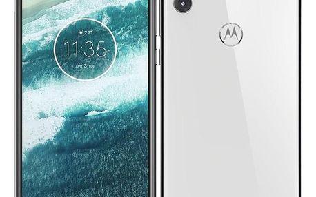 Motorola One Lite Dual SIM bílý (PAD40037RO)