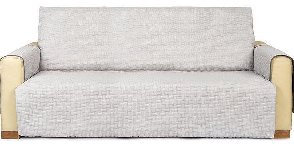 4Home Přehoz na sedací soupravu Doubleface šedá/světle šedá, 180 x 220 cm2