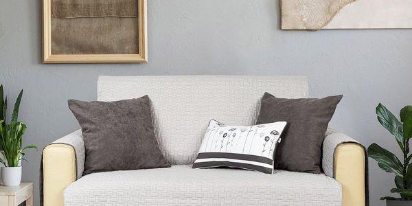 4Home Přehoz na sedací soupravu Doubleface šedá/světle šedá, 180 x 220 cm4
