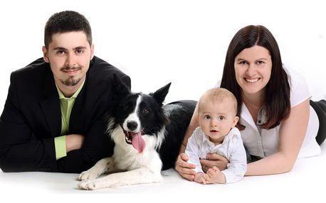 Focení v ateliéru: rodinné, těhotenské i portrétní