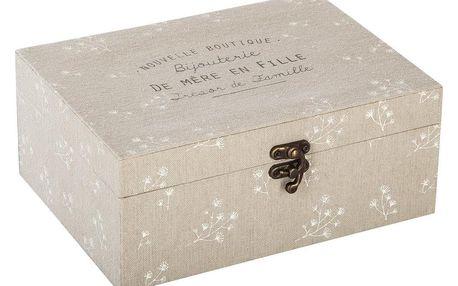 Atmosphera Krabička na šperky GARDEN, malá krabička
