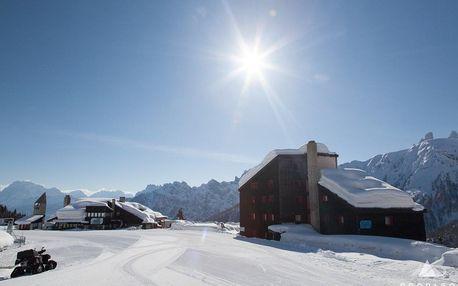 Last minute Silvestrovský pobyt - zažijte nezapomenutelné chvíle na svazích lyžařského ráje Alpe Lusia - San Pellegrino v italských Dolomitech