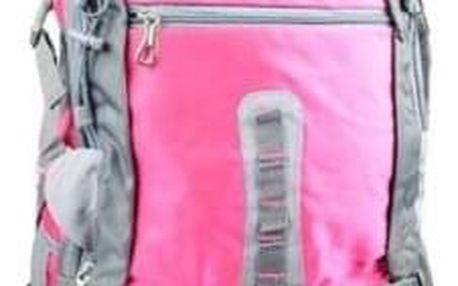 Hosen batoh outdoorový růžový 65l