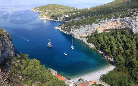 Chorvatsko - Hvar na 10 dnů, polopenze