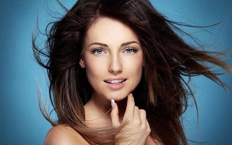 Barvení, foukaná, styling a vlasová regenerační maska