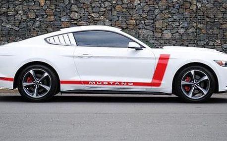 Adrenalinová jízda v upraveném Fordu Mustang 3.7 V6