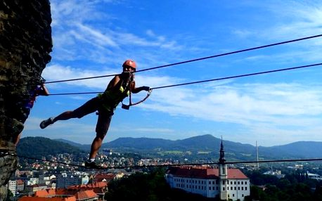 Bezpečný adrenalin při horolezení v Děčíně