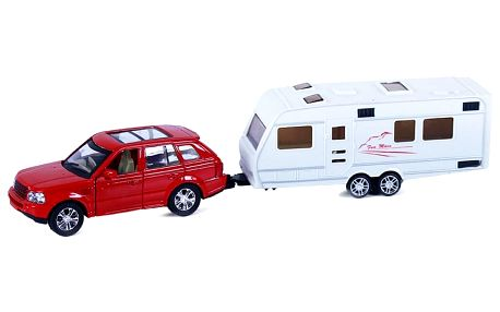 Rappa Kovové auto s přívěsem, 2 druhy