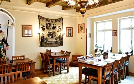 Steakové menu v centru Prahy i s vínem pro 2 osoby