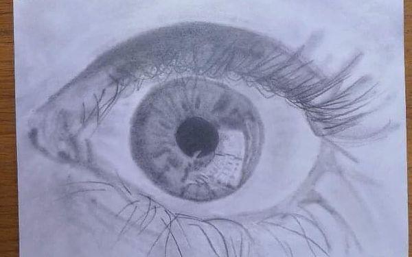 """Kresba portrétu """"pravou hemisférou""""   vícero lokalit   celoročně   cca 12 hodin výuky4"""