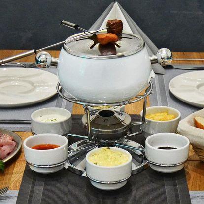 Fondue bourguignonne: švýcarská masová specialita