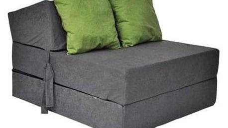 Kvalitní křeslo nebo matrace 70x200x15 cm více barevných variant Tmavě hnědá