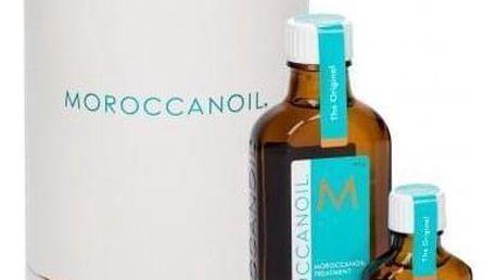 Moroccanoil Treatment Light dárková kazeta pro ženy olej na vlasy 100 ml + olej na vlasy 25 ml