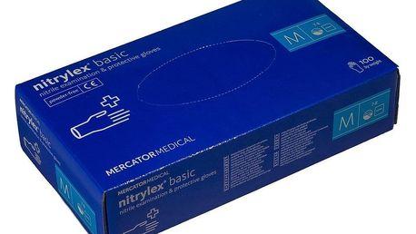 Rukavice Nitrylex Basic 100 ks, vel. M