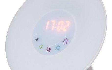 Rabalux 4423 Penelope stolní LED lampa s budíkem, bílá