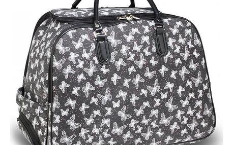 Dámská černá cestovní taška Flynn 1011D