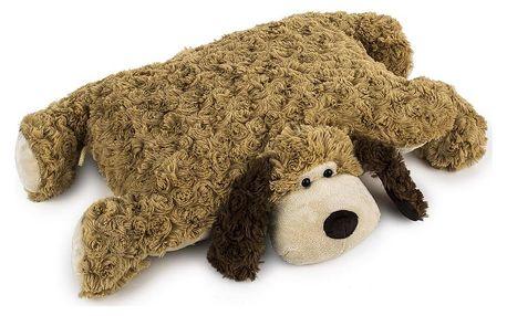 BO-MA Trading Polštářek Pes na knoflík, 35 x 45 cm