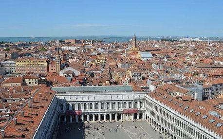 Italské stálice - Benátky, Terst, Miramare - 5 dní se snídaní