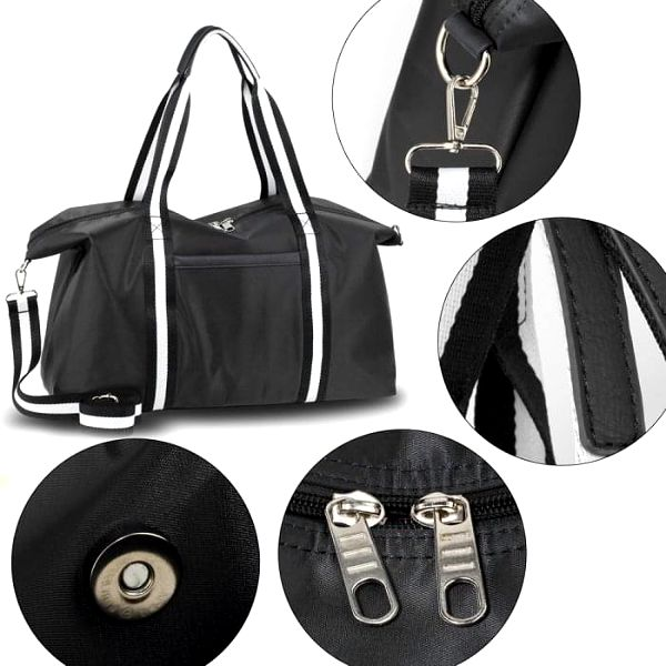 Dámská černá cestovní taška Linny 00213